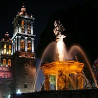 Photo taken at Zócalo by Andres R. on 5/5/2012