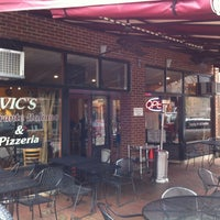 Photo taken at Vic's Ristorante Italiano & Pizzeria by Nick G. on 3/2/2012