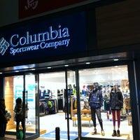 Photo taken at Columbia Sportswear 渋谷店 by Dean F. on 3/21/2012