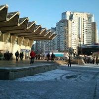 Photo taken at metro Pionerskaya by Святослав on 4/4/2012