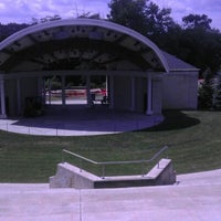 Photo taken at Warren Community Amphitheatre by Joshua N. on 6/22/2012