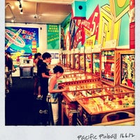 Photo taken at Pacific Pinball Museum by Joonas L. on 6/17/2012