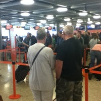 Photo taken at easyJet Check-In by Tiago on 7/8/2012