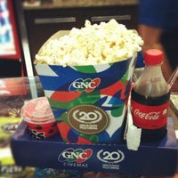 Photo taken at GNC Cinemas by Joao Filipe d. on 9/11/2012