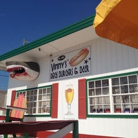 Photo taken at Vinny's Hot Dogs And Cold Beer by Allison C. on 5/10/2012