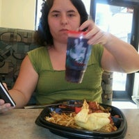 Photo taken at hyvee Food Court by Andrea M. on 6/4/2012