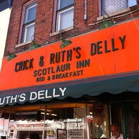 Photo taken at Chick & Ruth's Delly by KEVIN P. on 8/30/2011