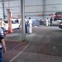 Photo taken at Stafford Motors Service Center by Ranganath G. on 8/15/2011