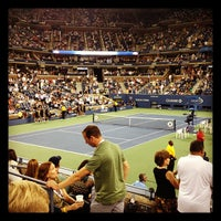 Photo taken at US Open Tennis Championships by Matty M. on 8/29/2012