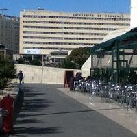 Photo taken at Aix-Marseille Université – Campus de Saint-Charles by Fatima L. on 3/12/2012