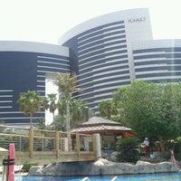 Снимок сделан в Гранд Хаятт Дубай пользователем Anastasia F. 9/20/2011