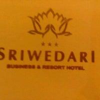 Photo taken at Room 222 Hotel Sriwedari Yogyakarta by Harry S. on 6/13/2012