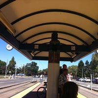 Photo taken at VTA Lightrail Tasman Station by Saurabh J. on 9/9/2012