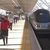 Photo taken at Gautrain Pretoria Station by Charl D. on 8/2/2011