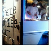 Photo taken at The Crème Brûlée Cart by Stacey R. on 4/29/2012