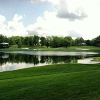 Photo taken at Quail Hollow Club by Justin C. on 4/22/2012