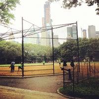 Photo taken at Heckscher Field by Ann B. on 8/11/2012