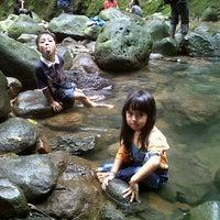 Photo taken at Curug ngumpet by Putri P. on 12/31/2011