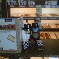 Photo taken at N & J Donut Shop by Jake R. on 4/18/2012