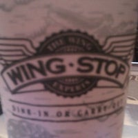 Photo taken at Wingstop by Sylvia B. on 10/21/2011