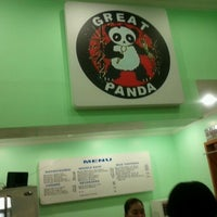 Photo taken at Great Panda Chinese Fast Food by Aileen A. on 10/15/2011