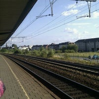 Photo taken at Station Gent-Dampoort by Jos P. on 6/8/2011