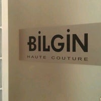 Photo taken at Bilgin Haute Couture by Ayşe Nur A. on 10/27/2011