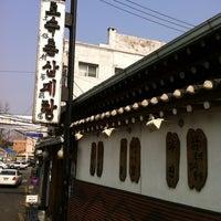 Photo taken at Tosokchon Samgaetang by Blue U. on 4/3/2011