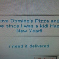 Photo taken at Domino's Pizza by Ramon D. on 1/1/2012