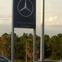 Photo taken at Mercedes-Benz of Tampa by Kelsey H. on 8/19/2011