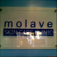 Photo taken at MOLAVE skin care clinic by Felis G. on 8/17/2012