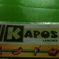Photo prise au Kapo's Lanches par Carlos V. le8/25/2012