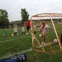 Photo taken at Parc des Bois-Francs by Manon R. on 8/14/2012