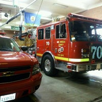 Photo taken at Los Angeles County Fire Station #70 by Edward L. on 1/29/2012