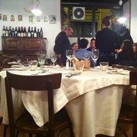 Photo taken at Trattoria Rovello 18 by Tunde P. on 1/10/2011