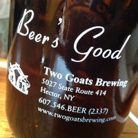 Photo taken at Two Goats Brewing by Rob E. on 9/1/2012