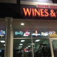Photo taken at Super Discount Wines & Spirits LLC by Kathleen G. on 2/19/2012