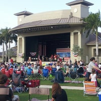 Photo taken at Sunset Cove Amphitheater by Robert R. on 7/4/2012