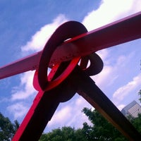 Photo taken at Minneapolis Sculpture Garden by Jam3s K. on 6/26/2011