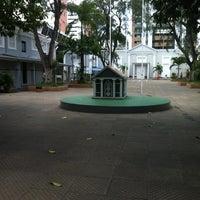 Photo taken at Colégio Batista Santos Dumont by Natasha F. on 1/10/2012