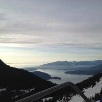Photo taken at Cypress Mountain Ski Area by Cenk D. on 2/9/2012