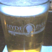 Photo taken at Hyde Park Brewing Co. by Scott M. on 12/22/2011