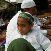 Photo taken at Lapangan Basket RW.01 by Ari Muharam M. on 9/1/2011