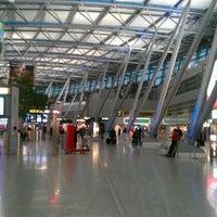 Photo taken at Düsseldorf Airport (DUS) by @PetteLov w. on 11/30/2011