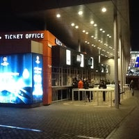 Photo taken at Ticket Office / Donbass Arena by Oleksandr K. on 11/22/2011