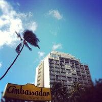 Photo taken at Ambassador Hotel Waikiki by Tomoyuki S. on 7/13/2012
