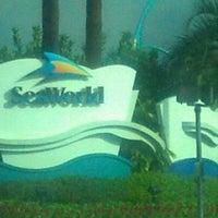 Photo taken at SeaWorld Orlando Parking Lot by Melissa R. on 6/8/2012