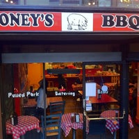 Photo taken at Boney's BBQ by Nick G. on 4/28/2012