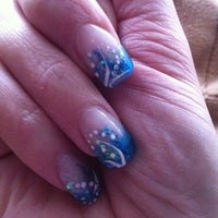Photo taken at Nails by Nicole @Thomas Scott Salon by Nicole V. on 4/2/2011