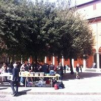Photo taken at Piazza Puntoni by Filiberto S. on 4/12/2011